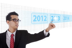 Power of future technologies Stock Photos