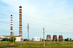 Power gas plant Stock Photography