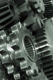 Power gears in action Royalty Free Stock Photo
