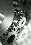 Power gears in dark toning Royalty Free Stock Photos