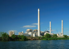 Power generating station Stock Images