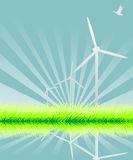 Power generating wind Royalty Free Stock Photography