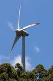 Power Generating Wind Turbines Royalty Free Stock Photos