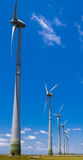 Power Generating Wind Turbines Stock Photos