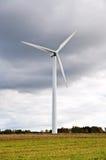 Power generating windmill. Wind turbines. Alternative energy source Stock Images