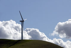 Power Generating Windmill royalty free stock photography