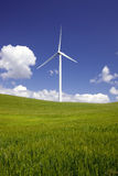 Power Generating Windmill Stock Photos