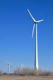 Power generating windmills Royalty Free Stock Image