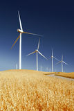 Power Generating Windmills Stock Images