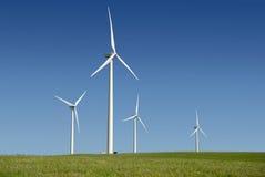 Power Generating Windmills Royalty Free Stock Photography