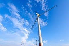 Power generation wind turbine Stock Photo