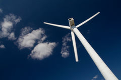 Power generator. Wind Power Generator on blue sky Stock Image