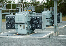 Power Generator. S  in a power grid providing energy to a community in Florida Stock Photo