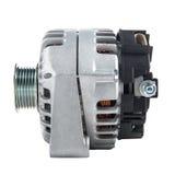 Power generator or alternator isolated on white background. Car engine parts. Stock Photography