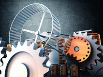 Power generator Stock Photos