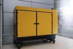 Power generator. Electric power generator near office building Stock Photography