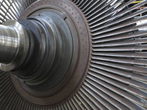 Power generator steam turbine during repair at power plant Stock Photo