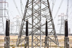 Power Generator Towers Stock Image