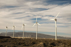 Power Generator Wind Turbine Royalty Free Stock Images