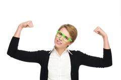 Power girl. Stock Image