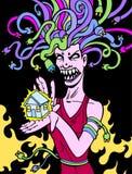 Power Goddess Stock Image