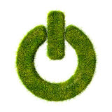 Power grass icon stock images