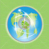 Power Of Green Earth Royalty Free Stock Images