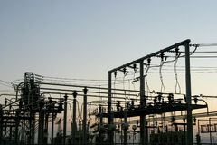 Power Grid #4 Stock Photography