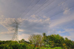 Power Grid Stock Photography