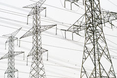 Power grid Royalty Free Stock Photography