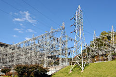 Power Grid. A major hydro-electric power grid stock images