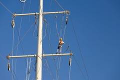 Power grid maintenance Stock Photography