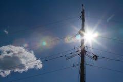 Power grid maintenance Stock Images