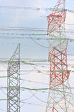 Power Grid Series 1. Power grid critical to support electricity demand royalty free stock photos
