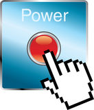 Power hand Royalty Free Stock Photo