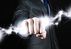 Power in hands Stock Image