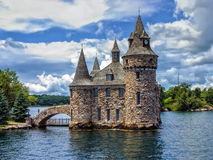 Power House of the Boldt Castle on Ontario Lake, Canada Royalty Free Stock Photos