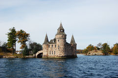 Power House of Boldt Castle in Thousand Islands, NY. Power House of Boldt Castle in Thousand Islands, New York, USA Royalty Free Stock Image