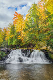 Power House Falls in Autumn Royalty Free Stock Image