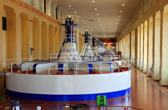 Power house, Turbines generators, OR. Stock Photos