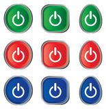 Power icon Stock Photography