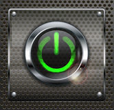 Power icon Stock Images
