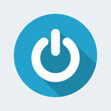 Power icon Royalty Free Stock Photography