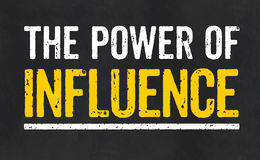 The power of influence Stock Photo