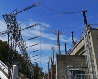 Power installation Stock Image