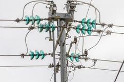 Power Insulators Stock Image
