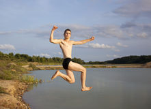 Power Jump Royalty Free Stock Photography