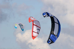 Power kites Stock Image