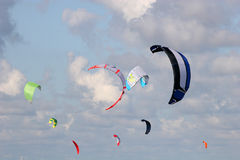 Power kites Royalty Free Stock Images