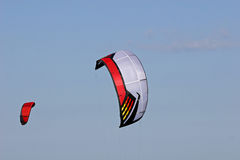 Power kites Stock Photo